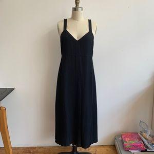 Aritzia Wilfred Black Midi Dress